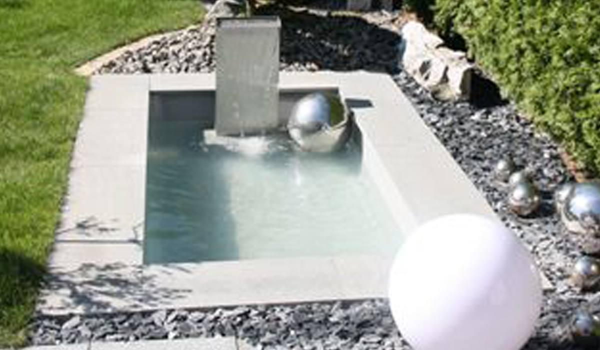 Wasserbecken Kunststoff Rechteckig: Teichbecken Eckig