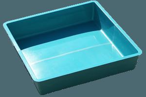 Wasserbecken Quadrat 2.900 Liter