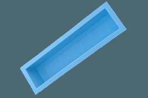 Wasserbecken 200 x 45 x 40cm +9cm Rand. Poolblau