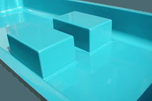Wasserbecken nach Form