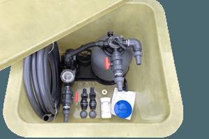 Klarwassersystem 8.000 Liter