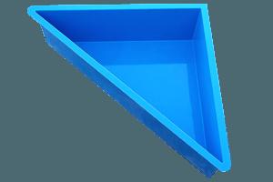 Wasserbecken Dreieck 1.800 Liter
