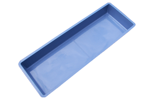 Wasserbecken  3300 Liter 450 x 147 x 52cm + 9cm Rand.Türkisblau Sonderangebot